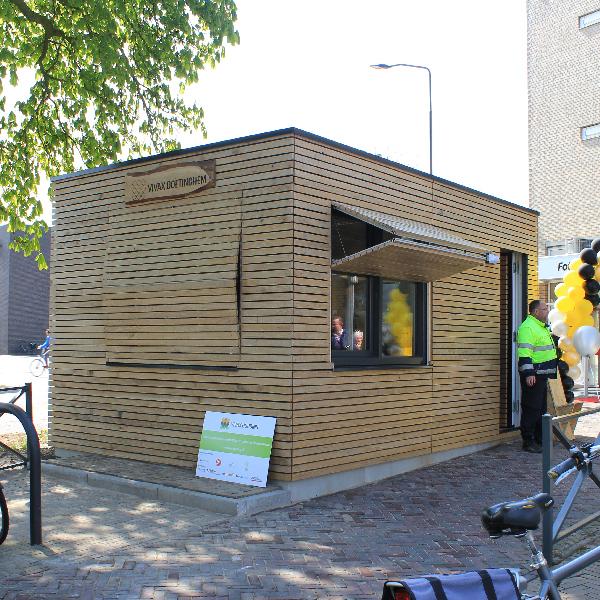 Vivax Doetinchem – beheerderswoning fietsenstalling